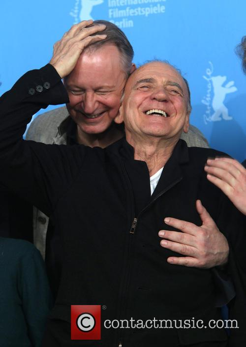 Stellan Skarsgard and Bruno Ganz