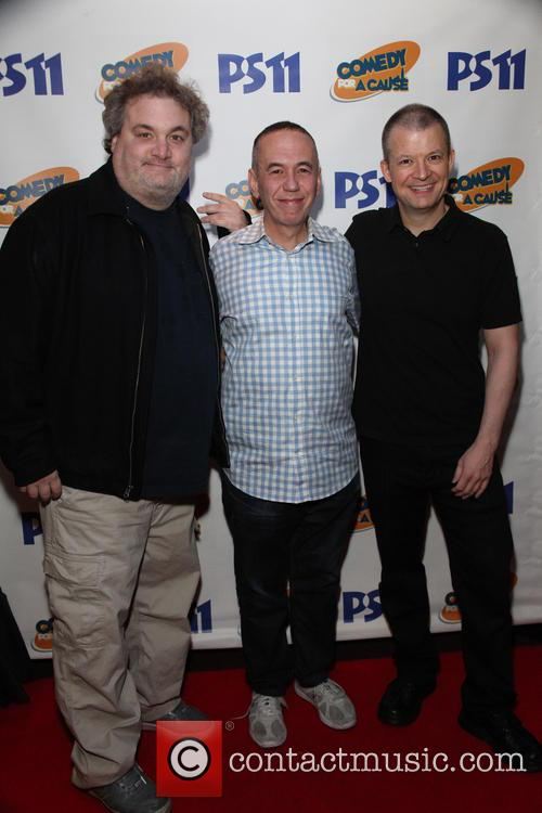 Artie Lange, Gilbert Gottfried and Jim Norton
