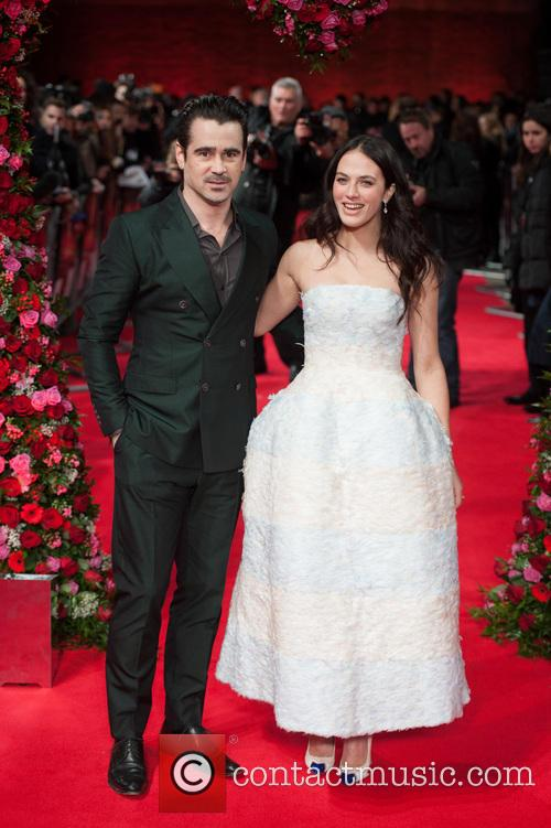 Colin Farrell and Jessica Brown Findlay 7
