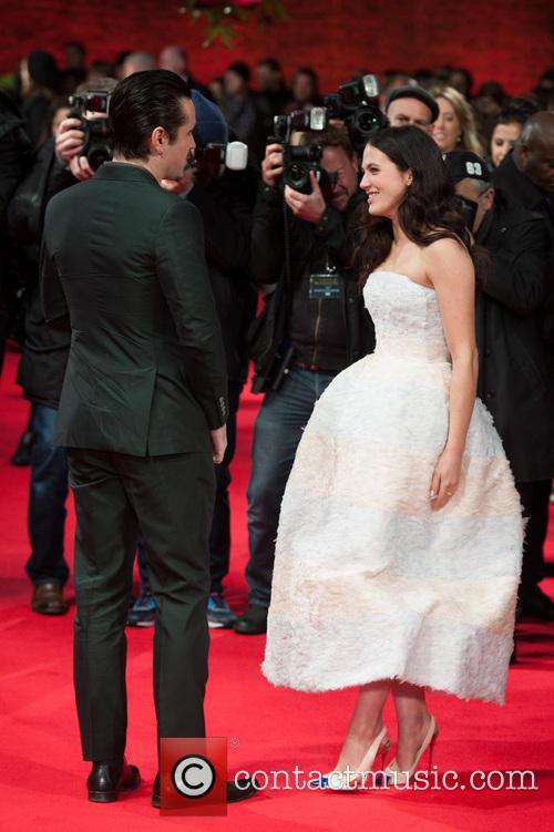 Colin Farrell and Jessica Brown Findlay 8
