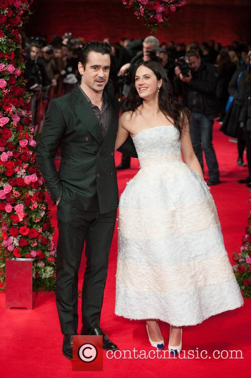 Colin Farrell and Jessica Brown Findlay 9