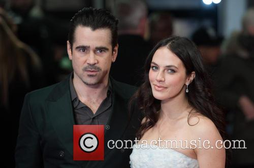 Colin Farrell and Jessica Brown Findlay 5