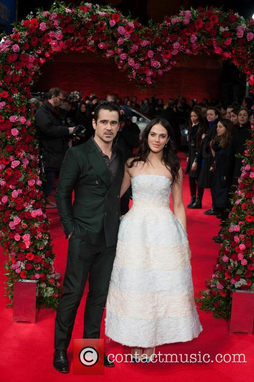 Colin Farrell and Jessica Brown Findlay 2