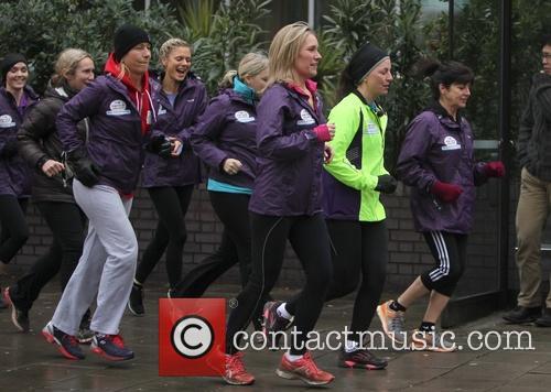 Davina Mccall, Martina Navratilova, Emma Freud and Jenni Falconer