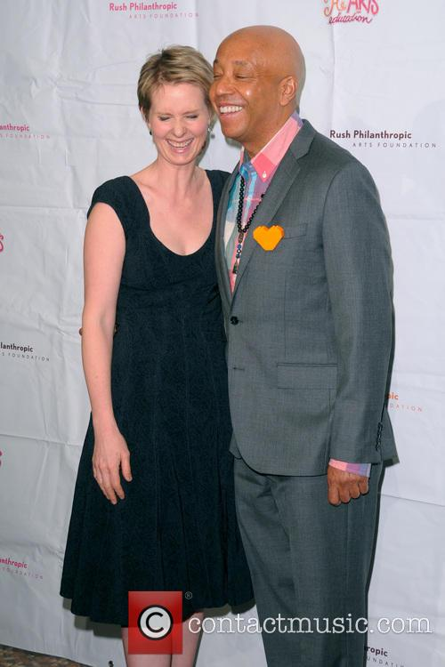 Cynthia Nixon and Russell Simmons 4