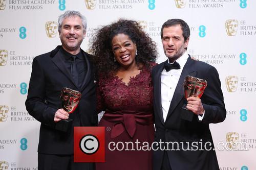 Alfonso Cuaron, David Heyman and Oprah Winfrey