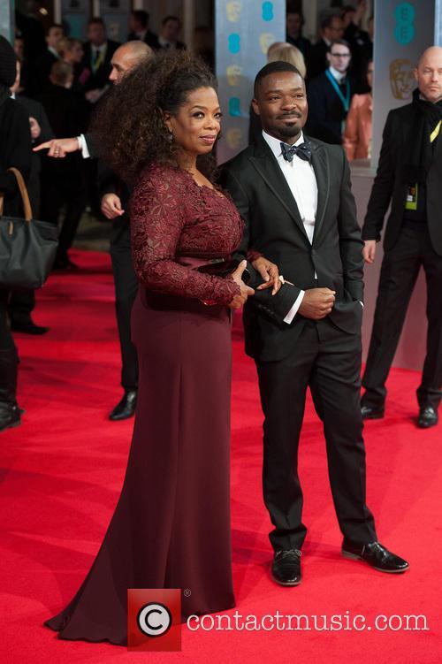 Oprah Winfrey and Guest