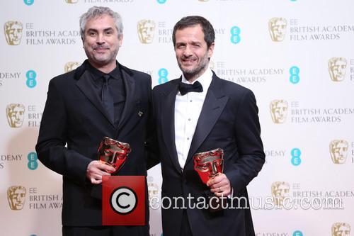Alfonso Cuaron and David Heyman 4