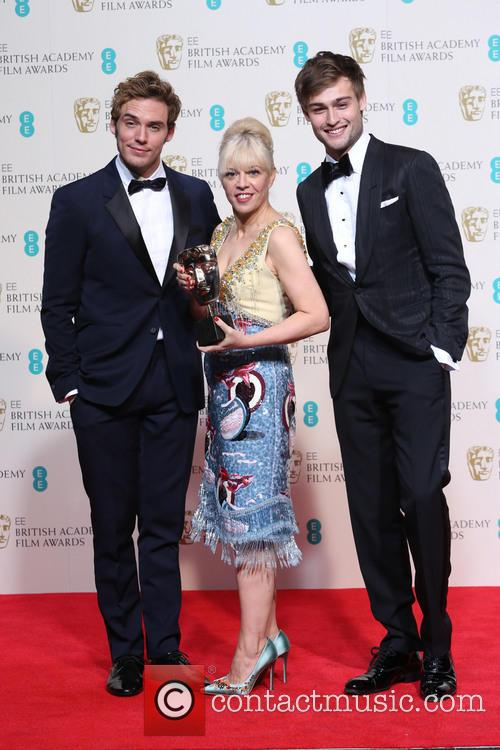 Sam Clafin, Catherine Martin and Douglas Booth 1