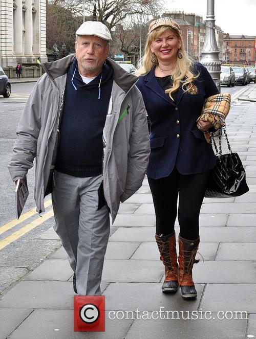 Richard Dreyfuss and Svetlana Dreyfuss