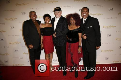 The Waters Family, Mike Love, Oren Waters, Maxine Waters, Julia Waters and Luther Waters 1