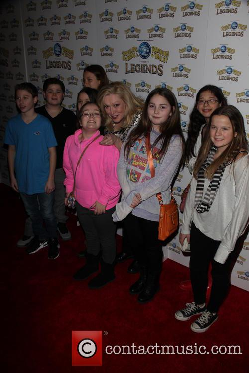 Cathy Moriarty and And Family 4