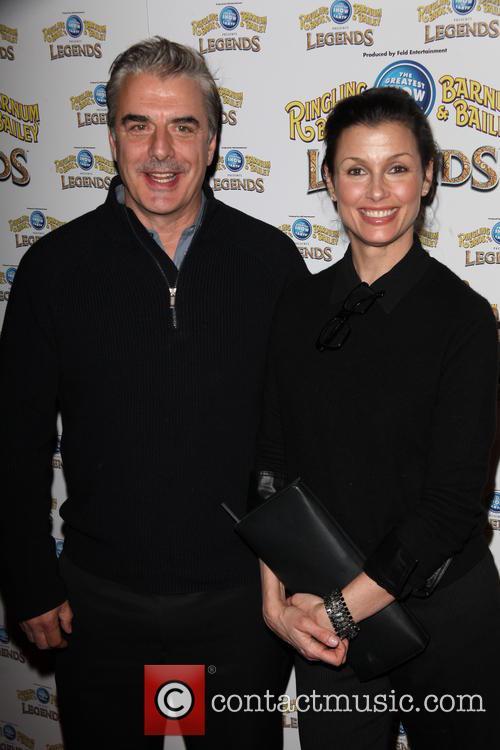 Chris Noth and Bridget Moynahan