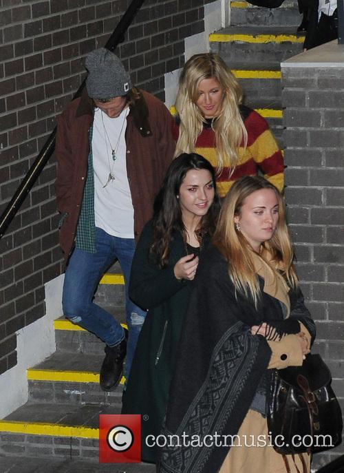 Ellie Goulding and Dougie Poynter 1
