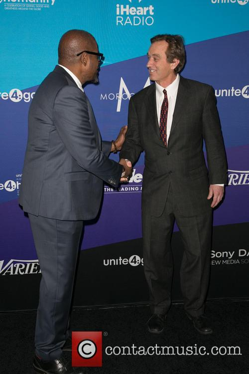 Forest Whitaker and Robert F. Kennedy Jr.