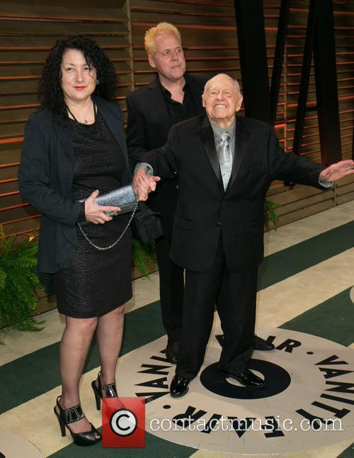 Charlene Rooney, Mark Rooney and Mickey Rooney