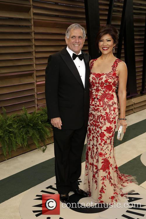 Leslie Moonves and Julie Chen 4
