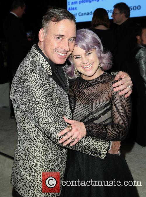 David Furnish and Kelly Osbourne 2