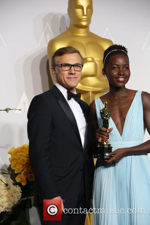 Lupita Nyong'o and Christoph Waltz