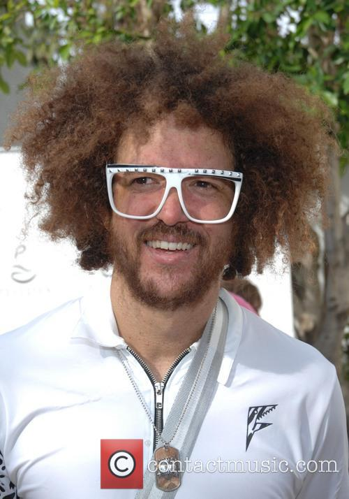 Will Ferrell and Redfoo Of Lmfao 7