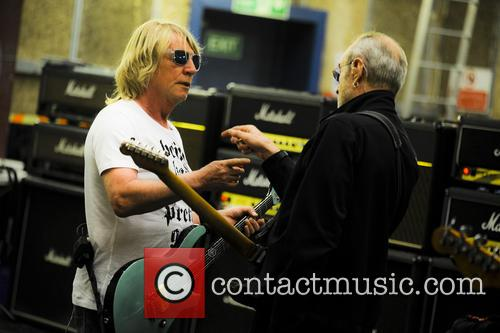 Rick Parfitt and Francis Rossi