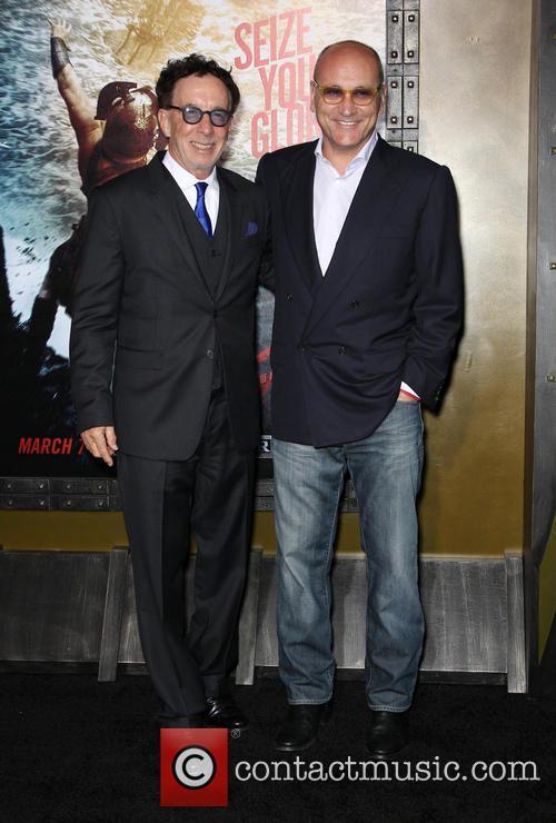 Mark Canton and Gianni Nunnari