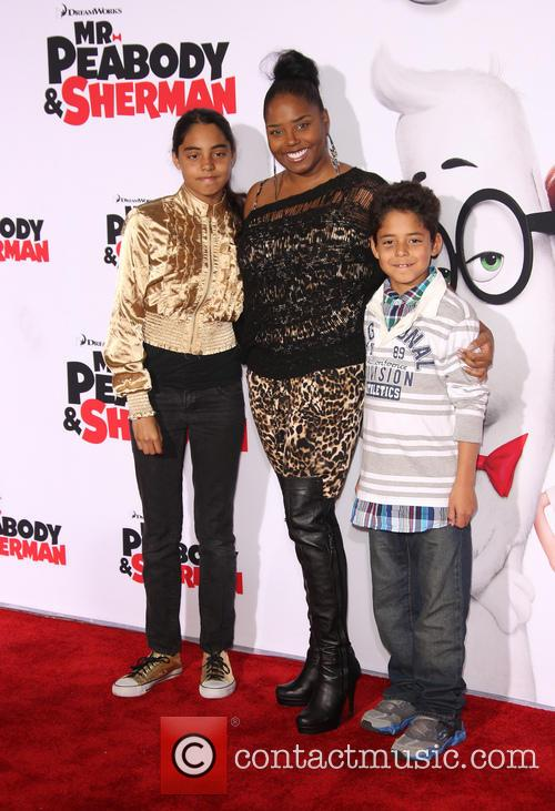 Shar Jackson, Cassilay Monique Jackson and Donovan Jackson