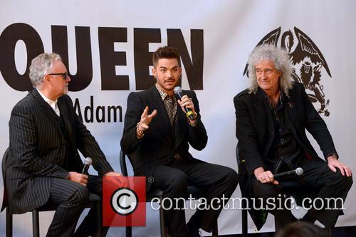 Roger Taylor, Adam Lambert, Brian May and Queen