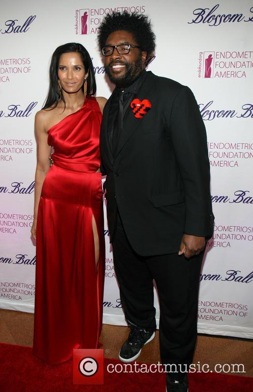 Padma Lakshmi and Questlove