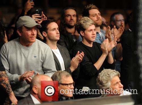 Guy Ritchie, Niall Horan, Shane Filan and Brian Mcfadden
