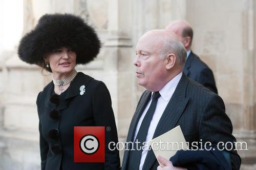 Julian Fellowes and Guest