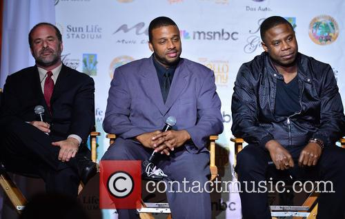 The , Scott Gartner and Melton Mustafa Jr. Doug E. Fresh 2