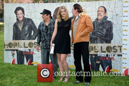 Mischa Barton, Michael Madsen and Danny Trejo