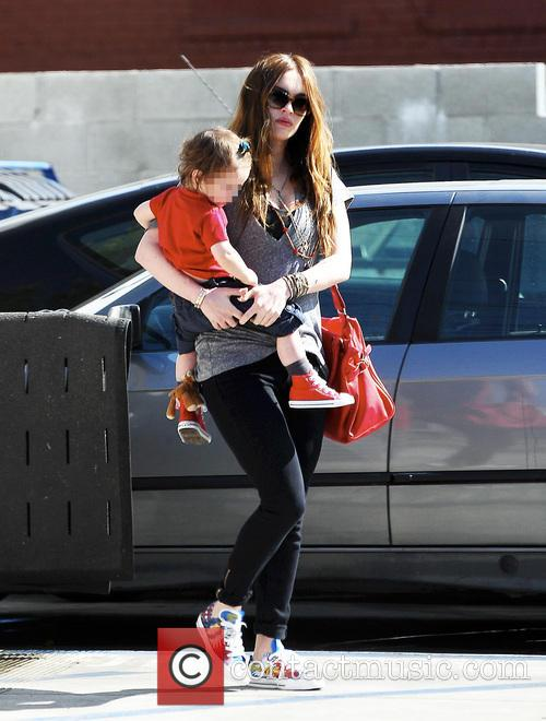 Megan Fox and Noah Green