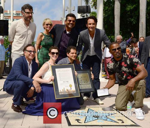 Jemaine Clement, Kristin Chenoweth, George Lopez, Rodrigo Santoro, Andy Garcia, Anne Hathaway, Carlos Saldanha and Jamie Foxx 2