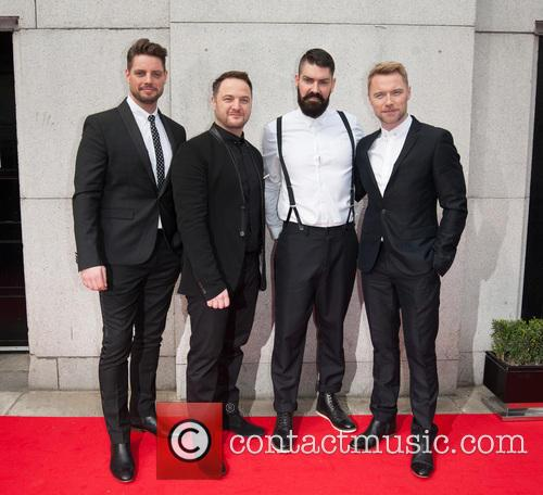 Keith Duffy, Mikey Graham, Ronan Keating and And Shane Lynch Of Boyzone 2