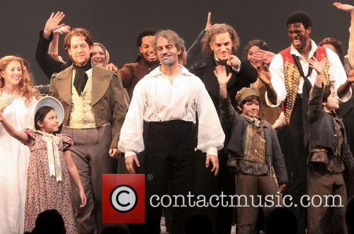 Les Miserables, Caissie Levy, Anfrew Kober, Ramin Karimloo, Will Swenson and Gaten Matarazzo