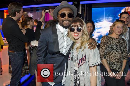 Will.i.am and Leah Mcfall