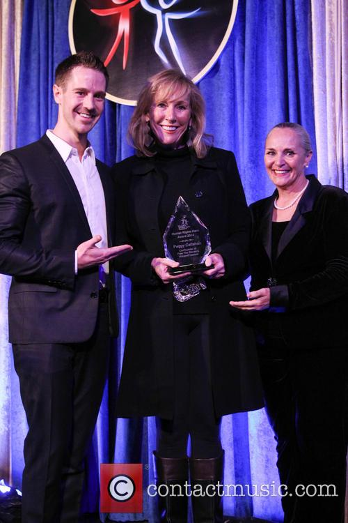 Jason Dohring, Peggy Callahan and Dr. Mary Shuttleworth