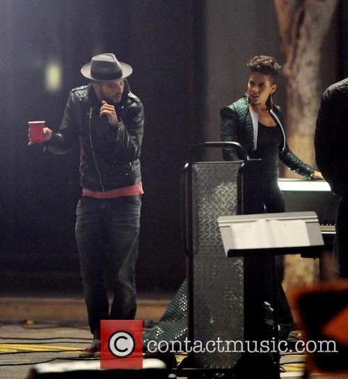 Alicia Keys and Swizz Beatz 7