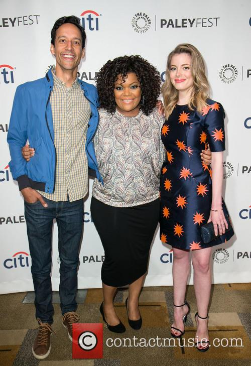 Danny Pudi, Yvette Nicole Brown and Gillian Jacobs 2