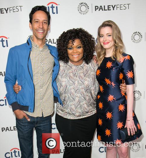 Danny Pudi, Yvette Nicole Brown and Gillian Jacobs 1