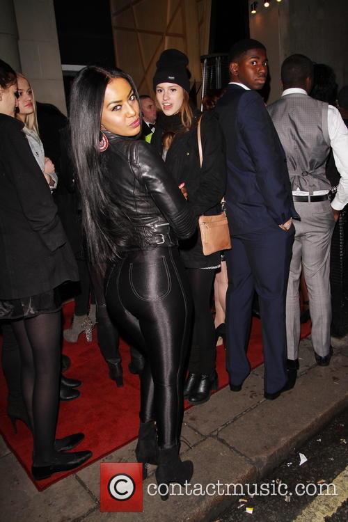 Drake, Tabby Brown and Rihanna