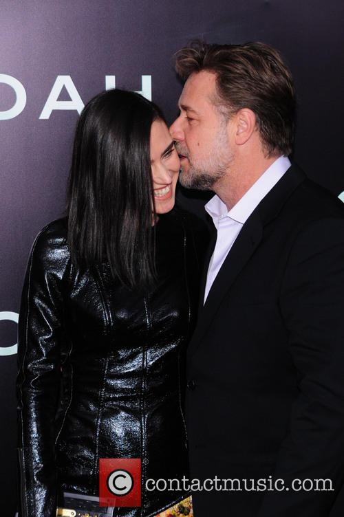 Jennifer Connelly and Russell Crowe