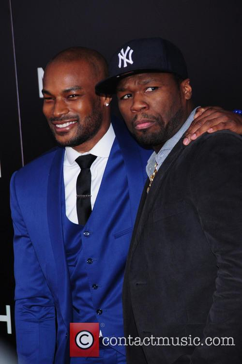 Tyson Beckford and 50 Cent