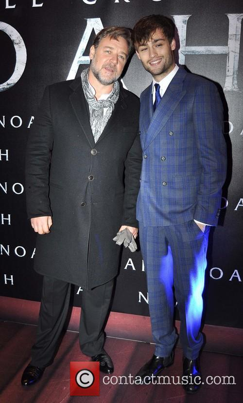 Russell Crowe and Douglas Booth