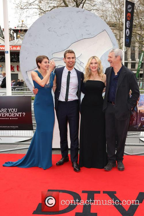 Shailene Woodley, Theo James, Kate Winslet and Neil Burger