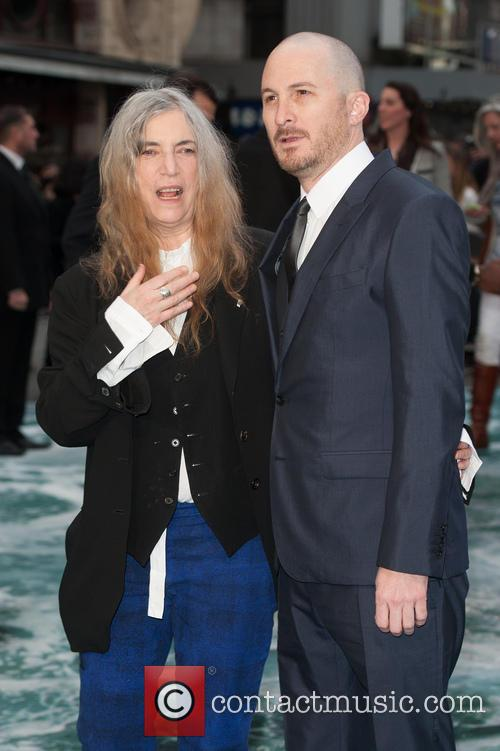 Patti Smith and Darren Aronofsky 2