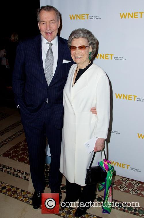 Charlie Rose and Rosalind P. Walter