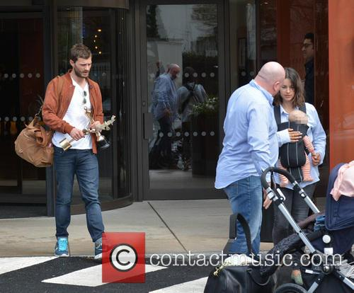 Jamie Dornan, Amelia Warner and Daughter